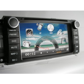Chrysler-Dodge-Jeep Sinto Dvd TFT-LCD Navigatore DVD 7'' PHONOCAR VM093