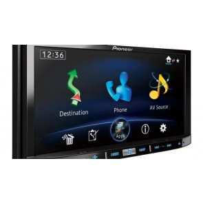 AUTORADIO NAVIGATORE PIONEER AVIC F 50 bt BT iPhone,iPAD,iPOD