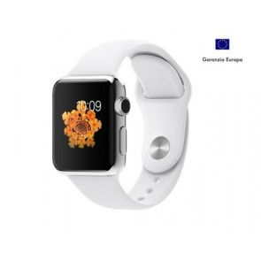 APPLE WATCH 38mm STEEL CASE WITE EUROPA