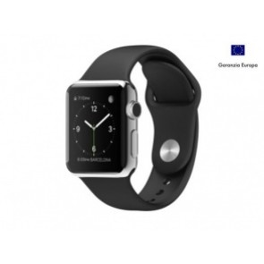 APPLE WATCH 38mm STEEL CASE BLACK EUROPA