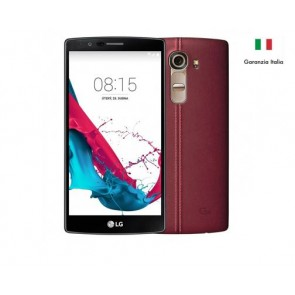 LG H815 G4 32GB GENUINE LEATHER RED ITALIA