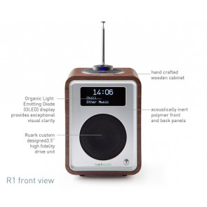 RADIO DA TAVOLO RUARK AUDIO WIRELESS BLUETOOTH R1 Mk3 WALNUT
