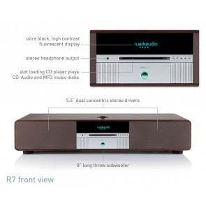 SISTEMA ALL IN ONE RUARK AUDIO R7 WIRELESS BLUETOOTH