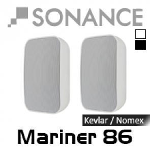 Coppia Casse Impermeabili Esterno SONANCE MARINER 86 20m 125w 91dB (iP 65)